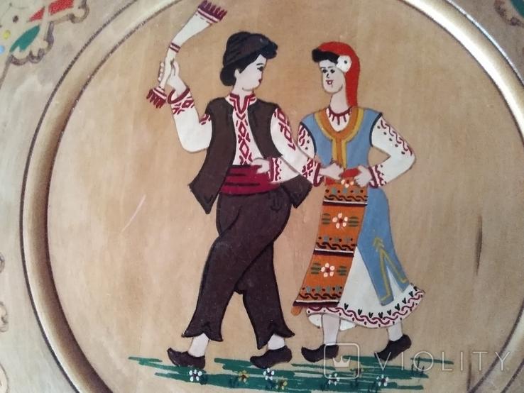 Дерев'яні сувенірні тарілки., фото №6