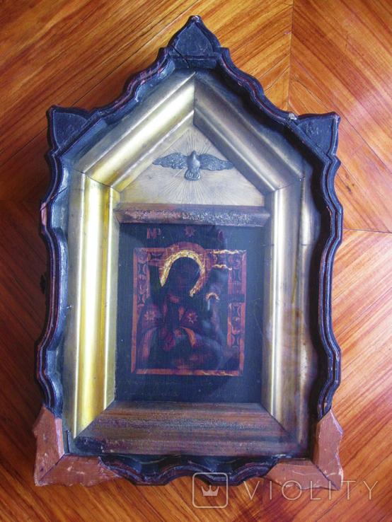 """Икона в киоте. """" Богоматери Ахтырской."""", фото №11"""