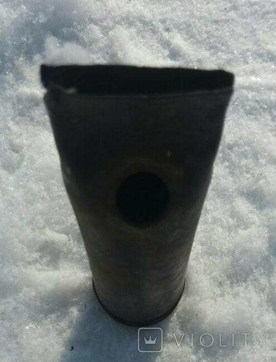 Лампа керосинка с зенитной гильзы ., фото №6