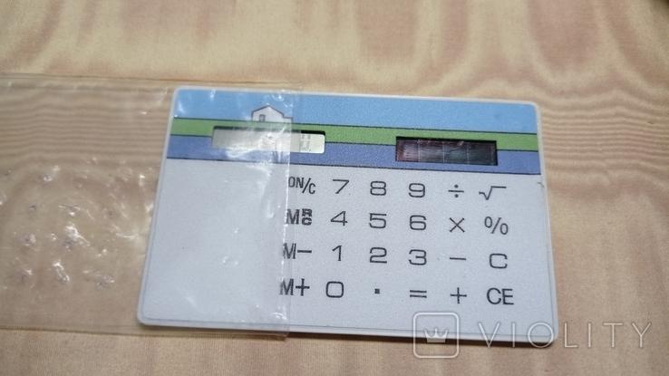 Калькулятор карманный плоский, фото №2