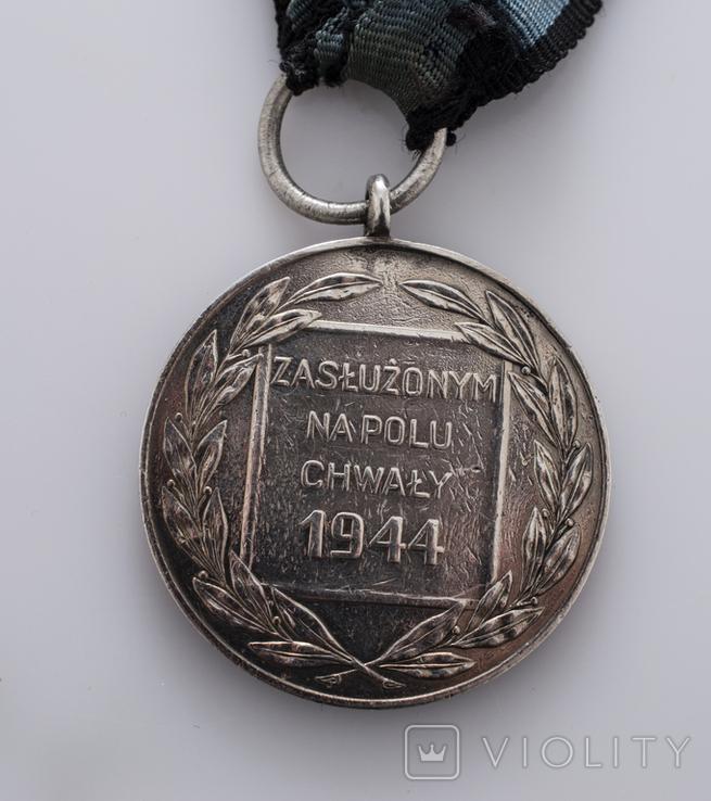 """Медаль """"Заслуженим на полі хвали"""", фото №4"""
