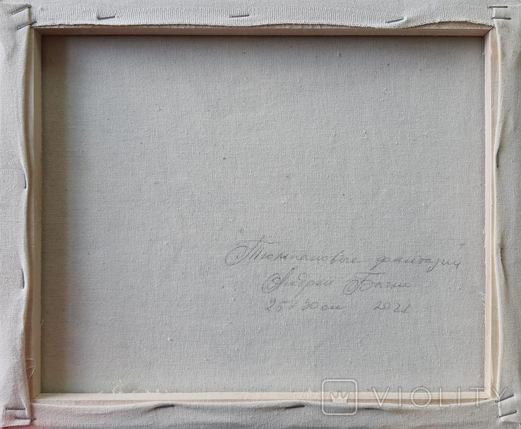 Картина, Тюльпановые фантазии, 25х30 см. Живопись на холсте, фото №7