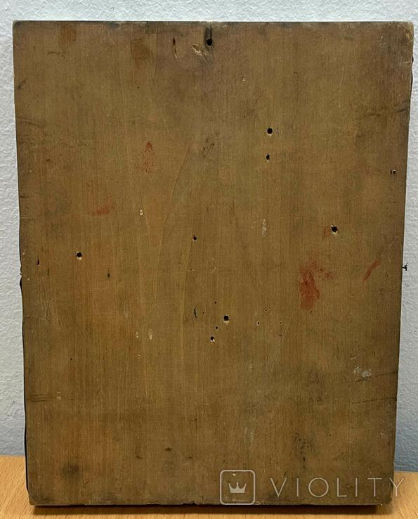 Икона Богородицы в серебряном окладе 84 пробы, фото №9