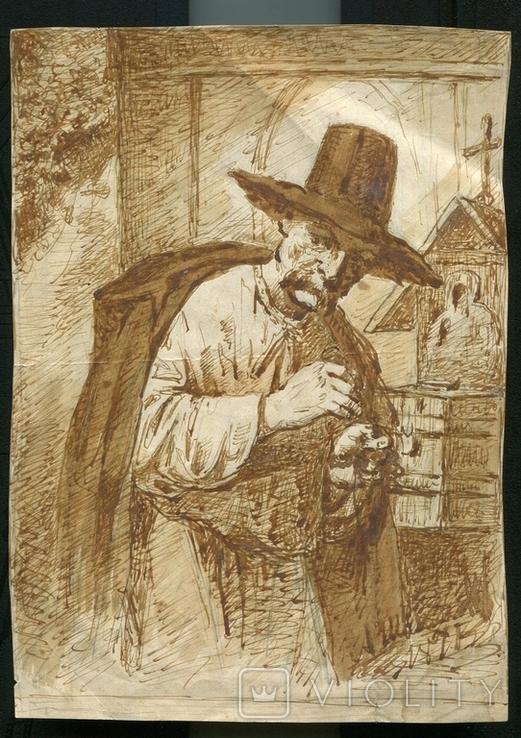 А.Х.Швайкевич Полтава Одесса Украинские типы 1875 г, фото №2