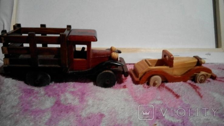 Авто модели даревяные, фото №2