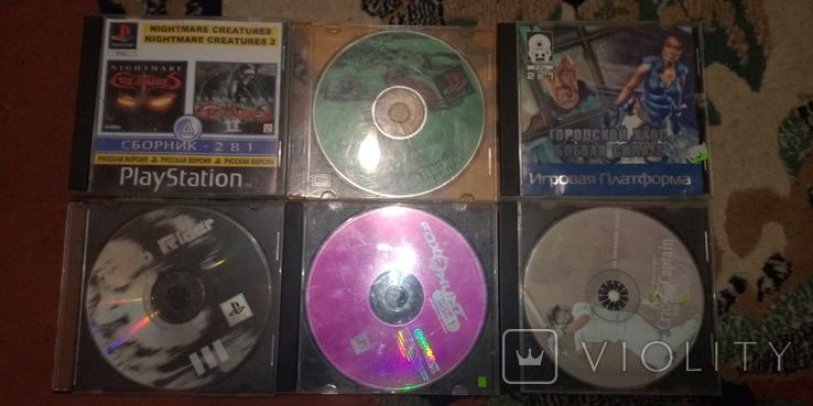 Игры к PlayStation 21 диск, фото №2