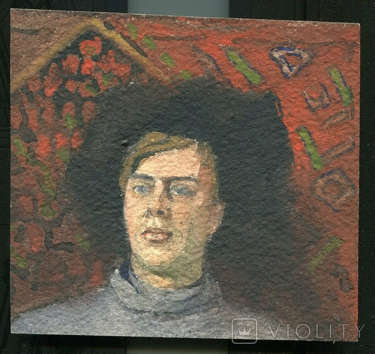 А.Х.Швайкевич Полтава Одесса 1880 - годы Казак, фото №2