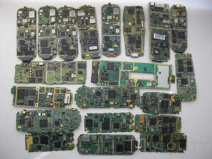 Платы телефонов 1.150 кг., фото №3