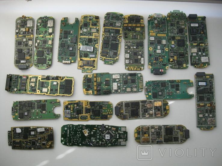 Платы телефонов 1.150 кг., фото №5
