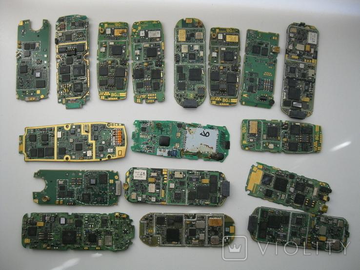 Платы телефонов 1.150 кг., фото №7