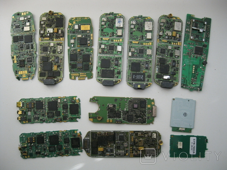 Платы телефонов 1.150 кг., фото №9