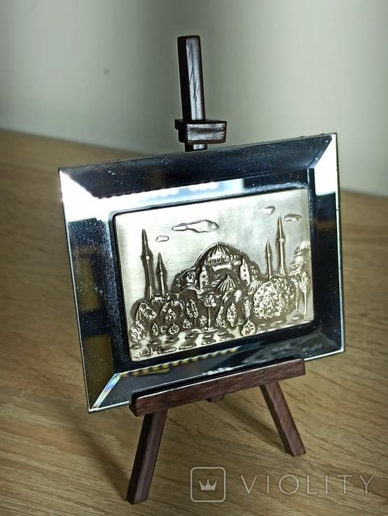 Картина. Стерлинговое серебро. Собор святой Софии., фото №2