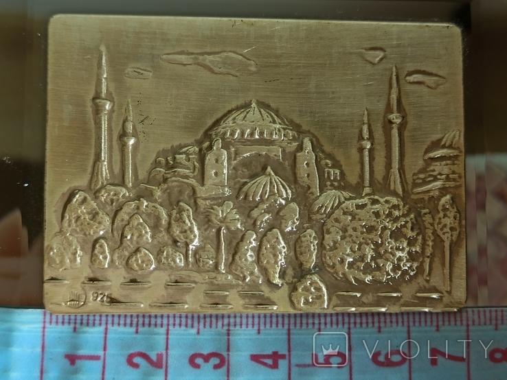 Картина. Стерлинговое серебро. Собор святой Софии., фото №6