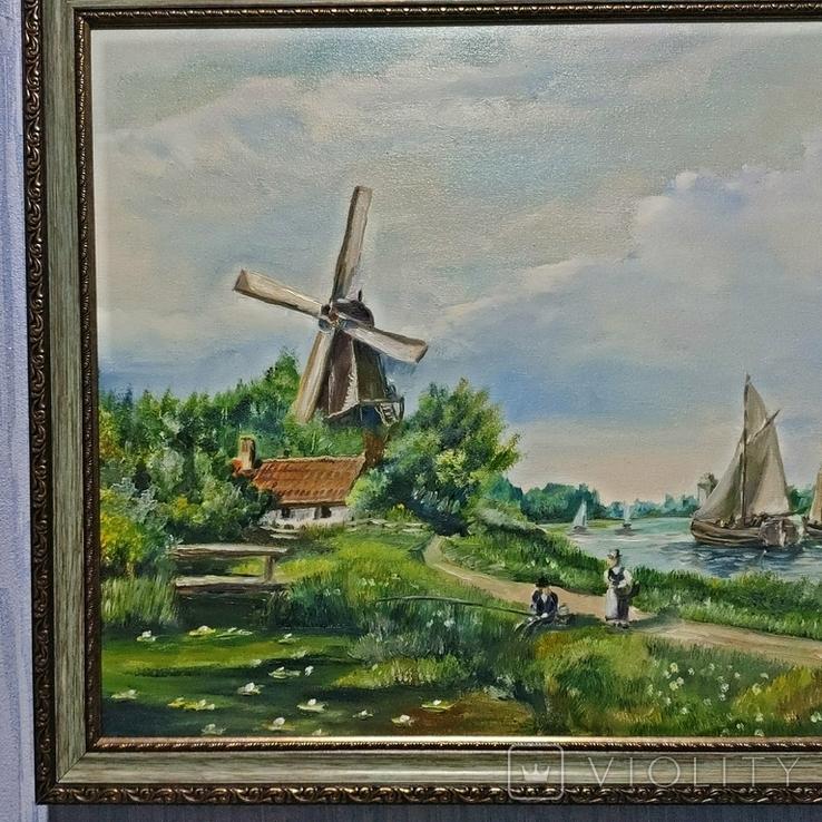 Картина художник Иванов Э.Н. 2017 г размер 40 х 60, фото №3