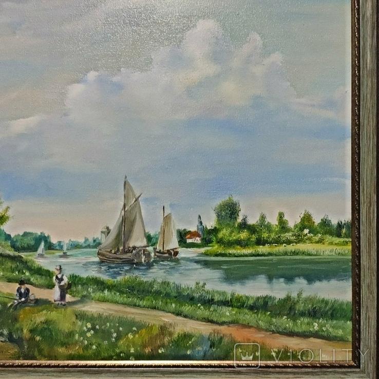 Картина художник Иванов Э.Н. 2017 г размер 40 х 60, фото №4