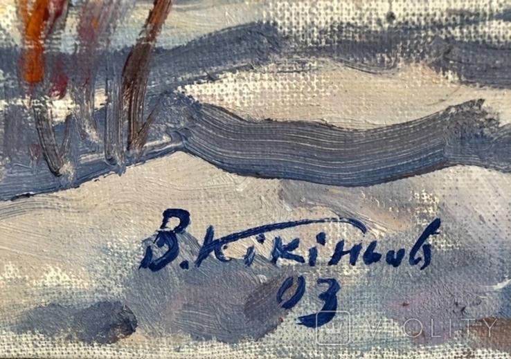 Кикинев В.М. ''Начало'' 72x63 х.м.  2003, фото №3