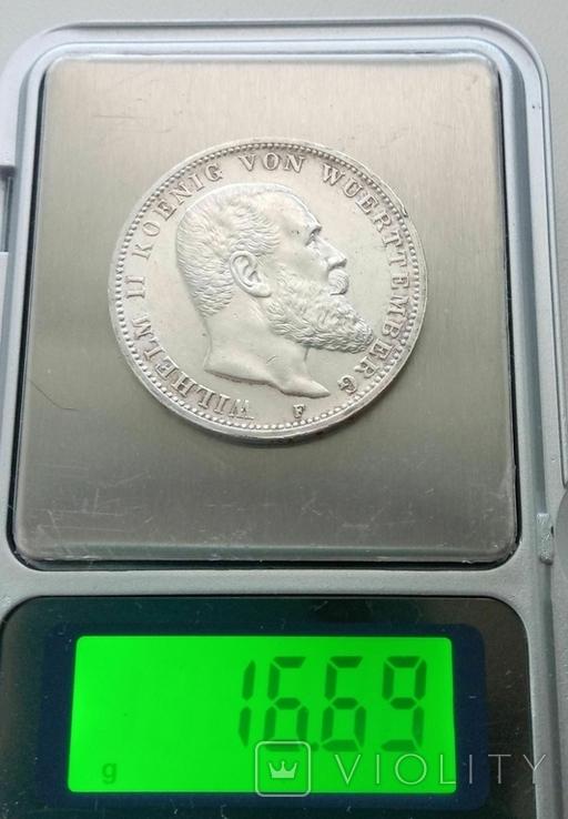 Вюртемберг 3 марки 1914 года, фото №13