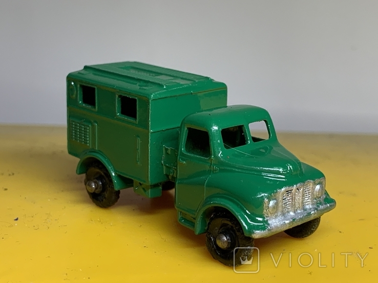 Matchbox Moko Lesney No.68 Austin Mark 2 Army Wireless Truck, фото №2
