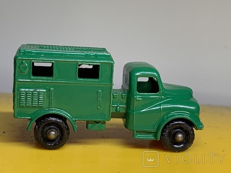 Matchbox Moko Lesney No.68 Austin Mark 2 Army Wireless Truck, фото №3