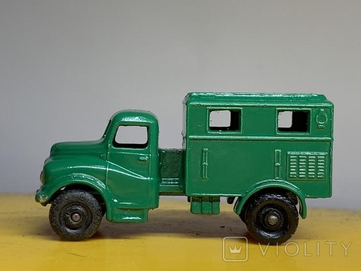 Matchbox Moko Lesney No.68 Austin Mark 2 Army Wireless Truck, фото №4
