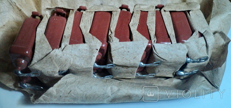 Конденсаторы -0,5 мкФ - 200 в,,9 шт новые, фото №3