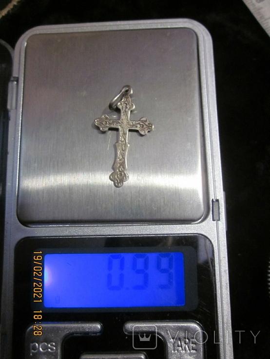 Кулон крестик, фото №2