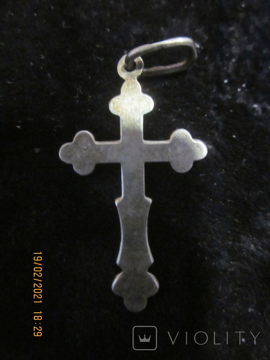 Кулон крестик, фото №3
