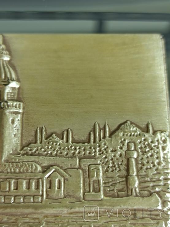 Картина. Стерлинговое серебро. Девичья башня., фото №9