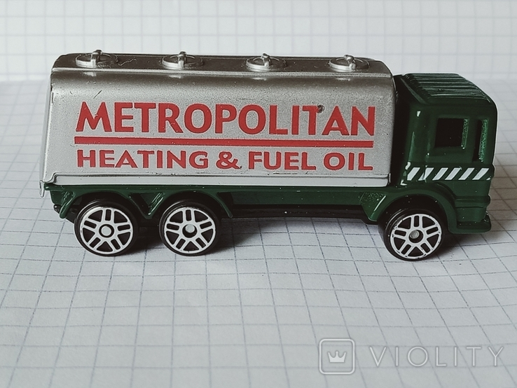 Модель Gas Tanker, Maisto, фото №2