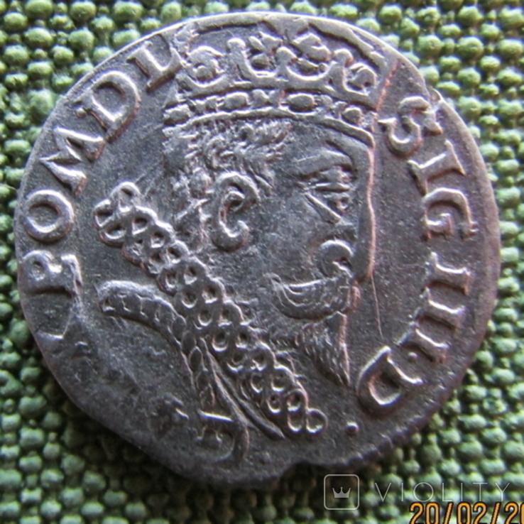 Трояк 1601 года, фото №3