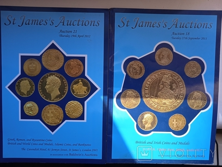 St james auctions coins за 2011г. / 2012г., фото №2