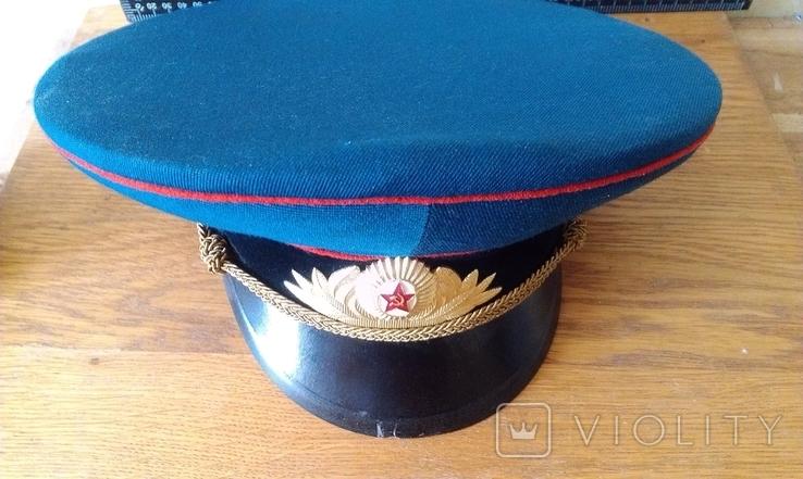 Фуражка парадная офицера танковых войск, фото №3