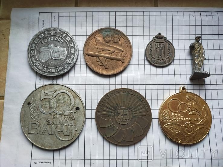 Разные настольные медали + бонус.