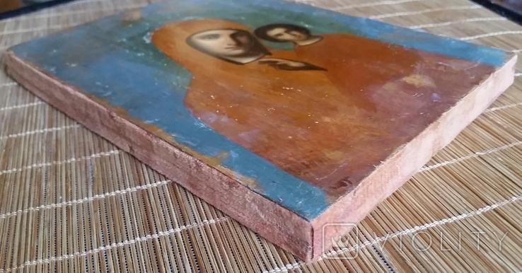 Ікона Казанська Богородиця, 21,8х17,2 см, фото №9
