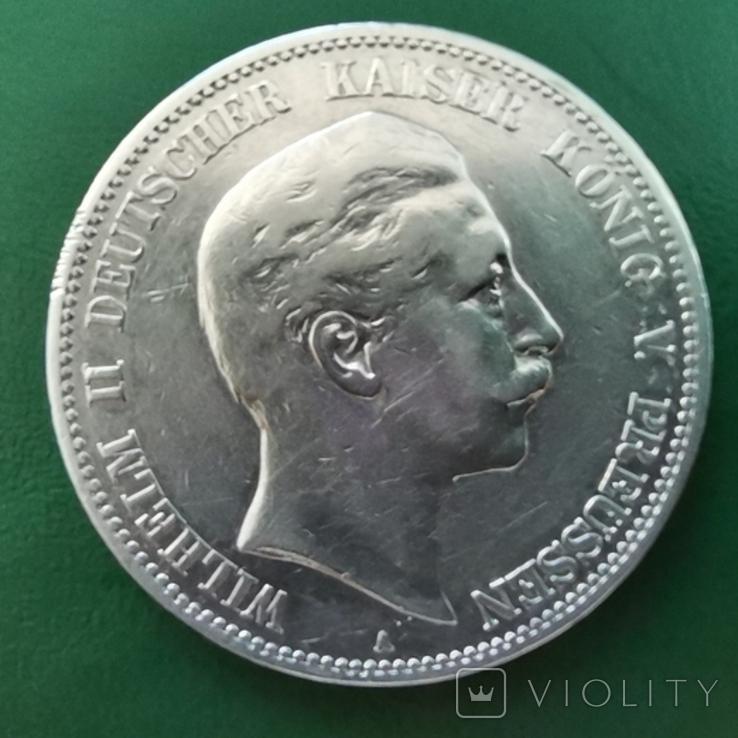 5 марок 1903 р.В Пруссия, фото №3