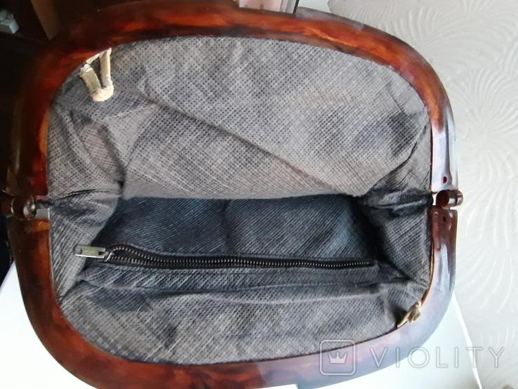 Винтажная женская сумка Италия, фото №8