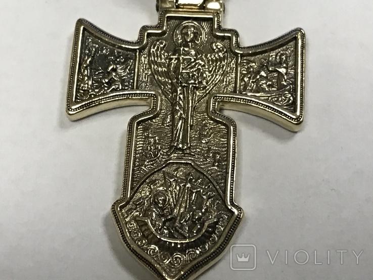 Золотой крест 585, фото №5