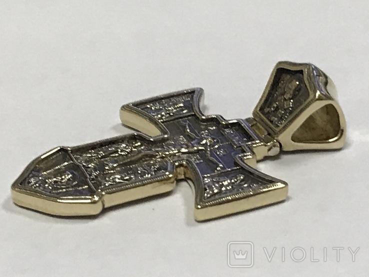Золотой крест 585, фото №8
