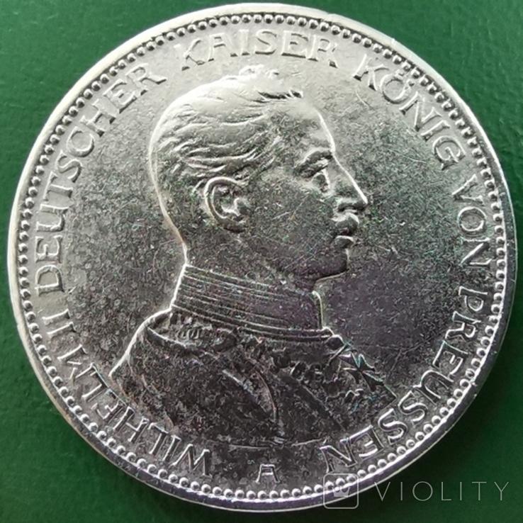 3 марки Пруссія 1914р., фото №3