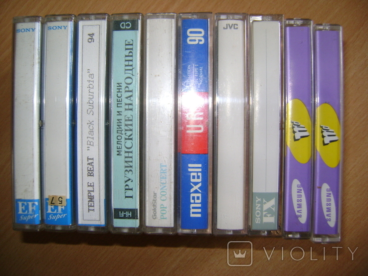 Аудиокассеты, фото №12