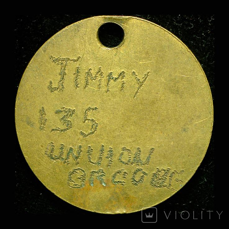 Великобритания солдатский жетон 1МВ, фото №3