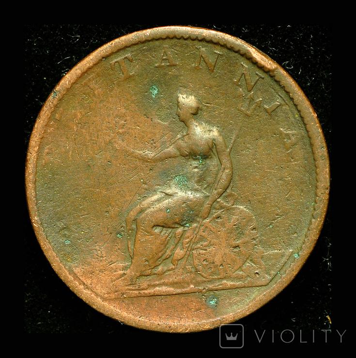 Великобритания 1/2 пенни 1807, фото №3