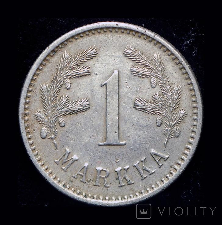 Финляндия 1 марка 1924 редкий год, фото №3