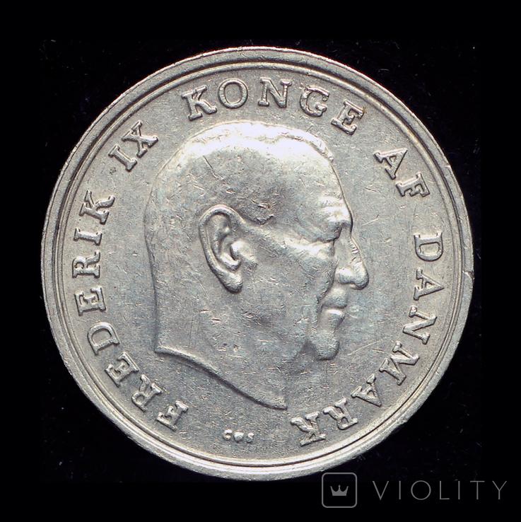 Дания крона 1966, фото №2