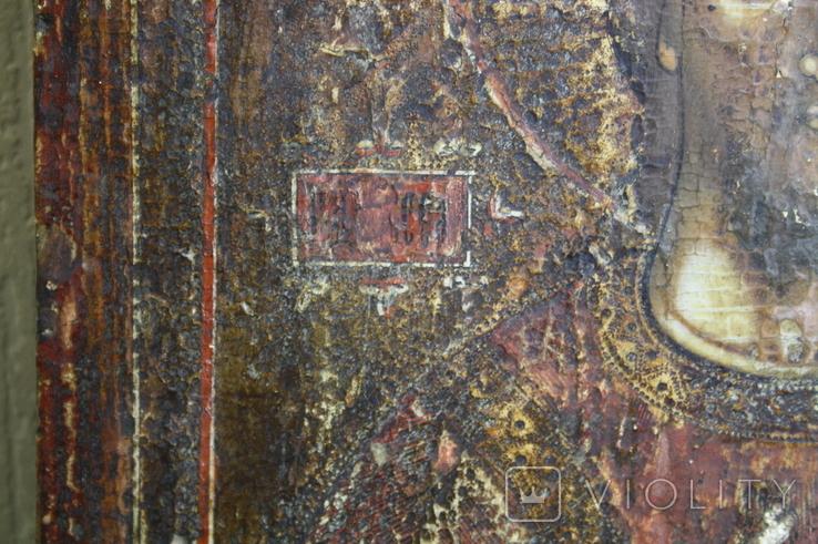 Спаситель 47х36 старая, фото №12