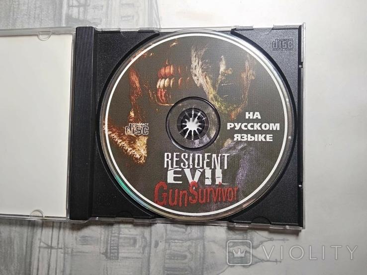 Игры диски Пс1 Playstation 1 one Resident evil directors cut авторская версия, фото №3