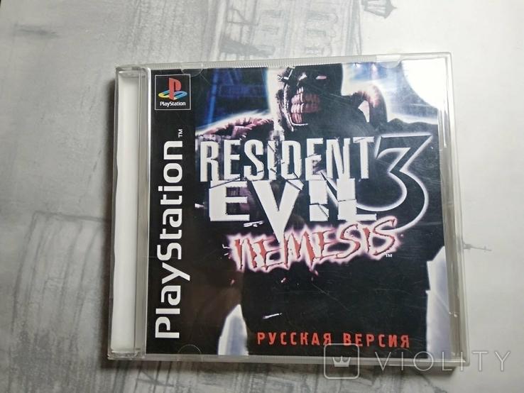 Игры диски Пс1 Playstation 1 one Resident evil nemesis (1), фото №2