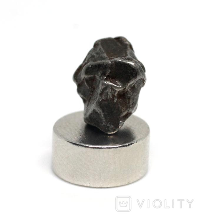 Залізний метеорит Campo del Cielo, 1,5 грам, із сертифікатом автентичності, фото №6