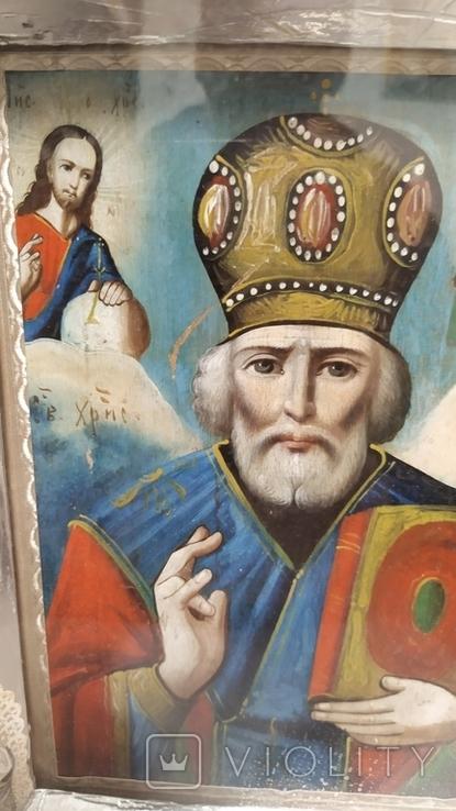 Икона Св. Николай, фото №3