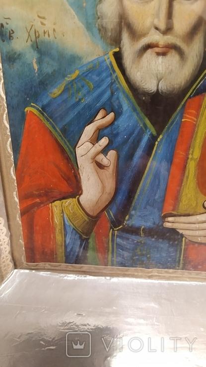 Икона Св. Николай, фото №6